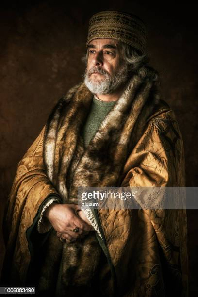 ancient nobleman portrait - royalty stock pictures, royalty-free photos & images