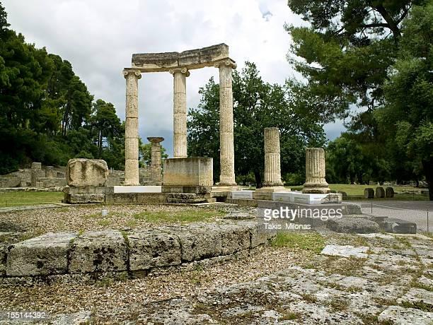 Ancient Olympias' Philippeion