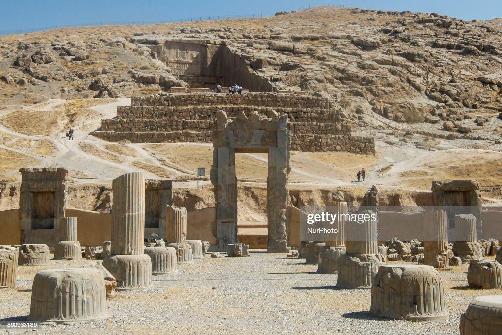Ancient Persepolis, UNESCO world heritage site : News Photo