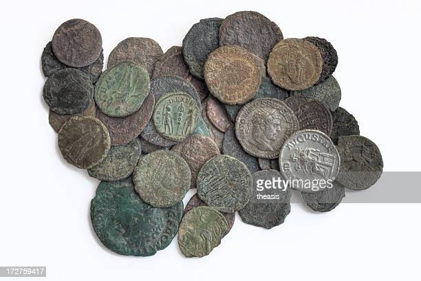 Ancient Roman Coin Hoard
