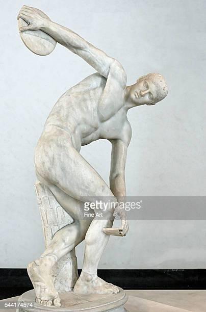Ancient Roman Copy of Discobolus by Myron