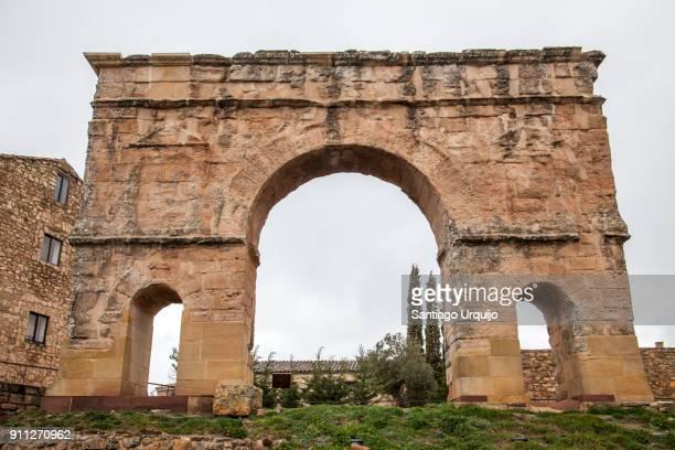 Ancient Roman gate in town of Medinaceli