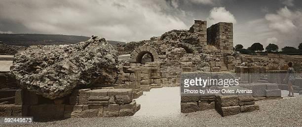 ancient roman site of baelo claudia - victor ovies fotografías e imágenes de stock