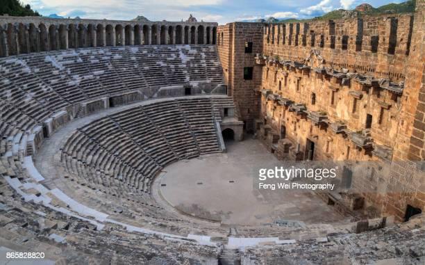 Ancient Roman Theater, Aspendos, Antalya, Turkey