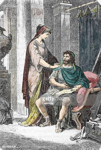 after caesar assassination his wife Calpurnia Pisonis delivered all Caesar's personal papers including will and notes and most precious possessions...