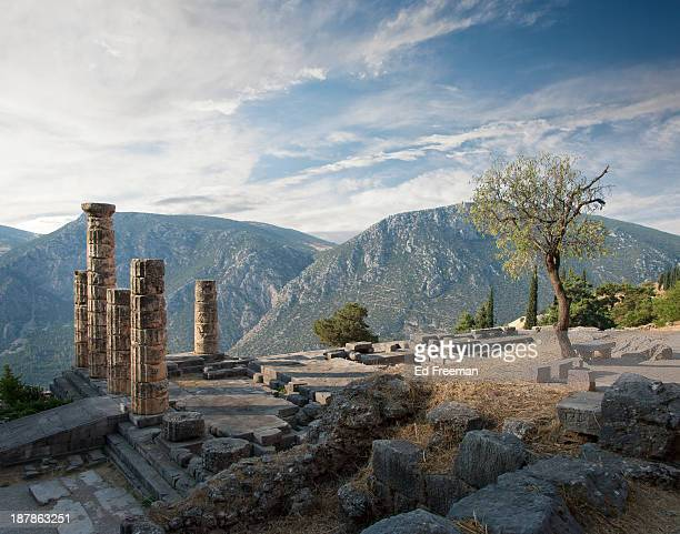 Ancient Ruins at Delphi, Greece