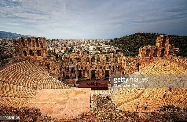 Ancient ruins of Greek Amphitheatre