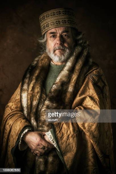 retrato antigo erudito - estilo do século xviii - fotografias e filmes do acervo