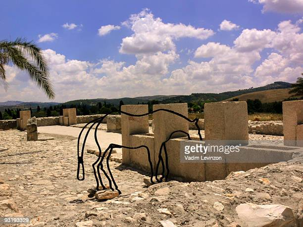 Ancient stables  Tel Megiddo National Park