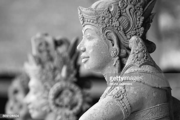 Ancient statue at Tirta Empul Temple