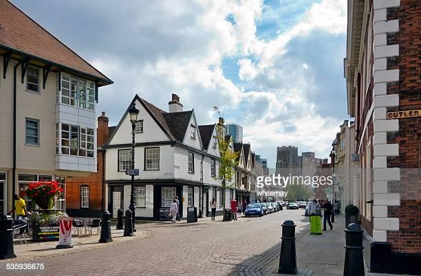 Ancient streets in Ipswich, Suffolk