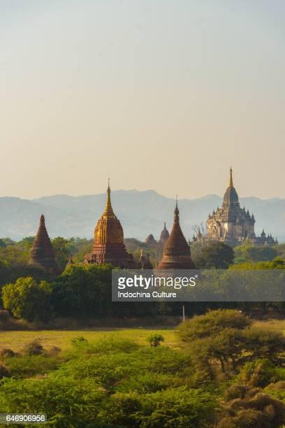 Ancient temples in Old Bagan, Myanmar