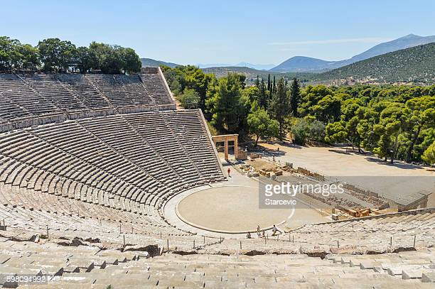 Ancient Theater of Epidaurus in Greece