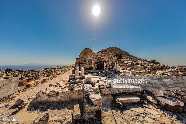 ancient thira, santorini - ancient stock pictures, royalty-free photos & images