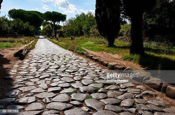 Ancient Via Appia, Roman Road in Rome