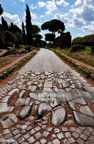 Ancient Via Appia, Roman Road in Rome