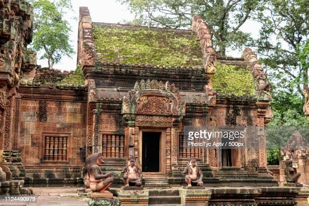 ancient worship - traditionally cambodian stock pictures, royalty-free photos & images