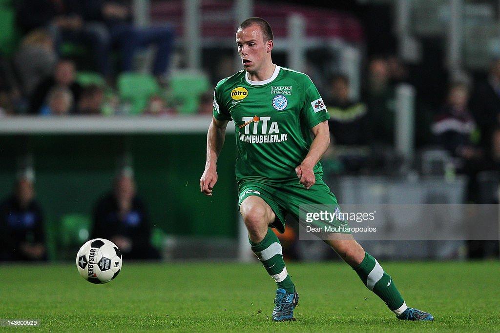 Anco Jansen Of De Graafschap In Action During The