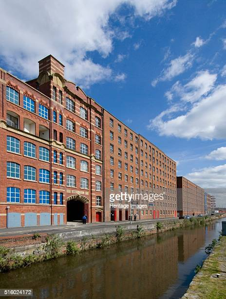 Ancoats Mill Complex Manchester 2008 The Rochdale canal runs past the Redhill Street Mills Regenerated former cotton mills Artist Historic England...