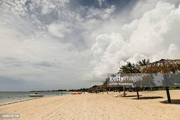 Ancon beach near Trinidad, in Cuba