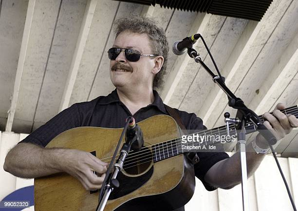 Ancramdale, NY - JULY 19 2003: Tim Stafford performs with the band Blue Highway at the Grey Fox Bluegrass Festival on July 19, 2003 in Ancramdale,...