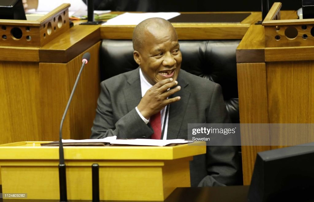 State of the Nation Address (SONA) 2019 debate - day 1 in SA : News Photo