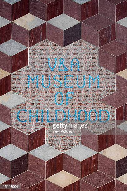 And A Museum Of Childhood, London, United Kingdom, Architect Caruso St John V And A Museum Of Childhood Detail Of The Sign