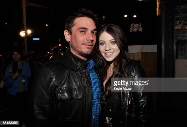 """And Actress Michelle Trachtenberg arrives at the launch of """"DJ Hero"""" hosted by ActiVision held at The Wiltern on June 1, 2009 in Los Angeles,..."""