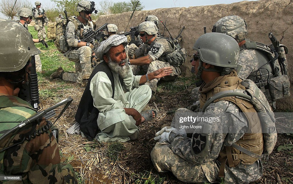 U.S. Army Conducts Operations In Kandahar Province : News Photo