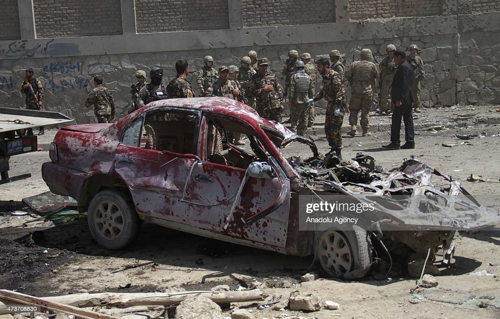 Suicide bombing near Kabul Airport leaves at least three dead : News Photo