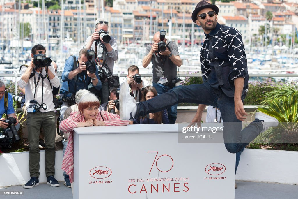 JR and Agnes Varda... : Photo d'actualité