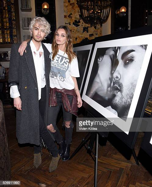 and Allie Crandell attend BILLY Love Don't Break Me Art Exhibit book launch and shortfilm screening on April 29 2016 in Los Angeles California