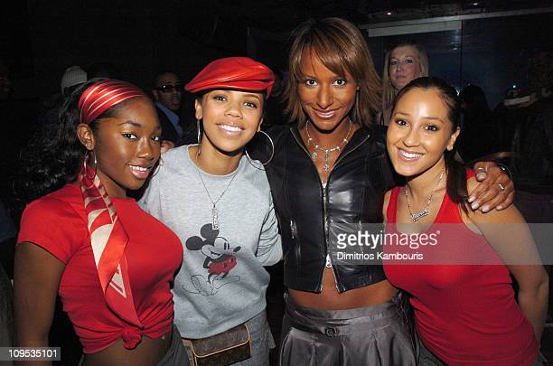 3LW and Amy Barnett during Teen People Takes a Look at 'What's Next' in New Talent in 2004 Inside and Show at Crobar in New York City New York United...
