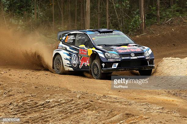 MIKKELSEN and ANDERS JAEGER SYNNEVAAG in VOLKSWAGEN POLO R WRC of team VOLKSWAGEN MOTORSPORT II in action during the shakedow of the WRC Vodafone...