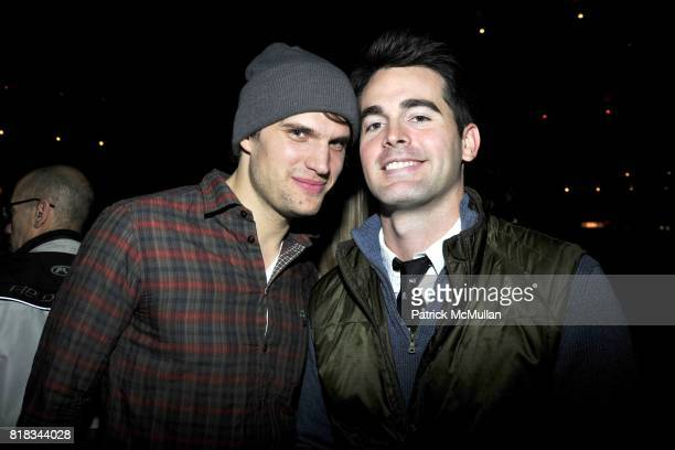 and Andrew Freesmeier attend FEED THE HOMELESS A Fundraiser for the Coalition of the Homeless at TriBeCa Grand Hotel on February 4 2010 in New York...