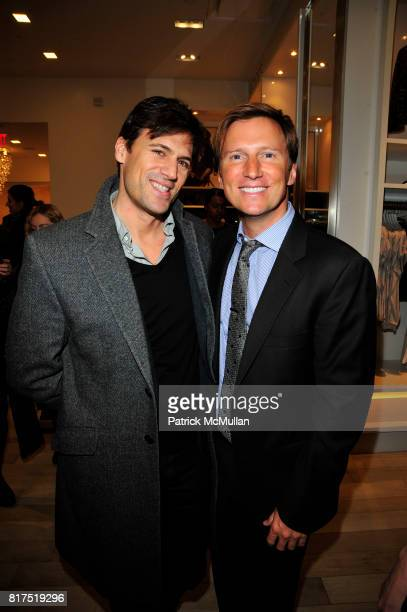 and Andrew Taylor attend Ann Taylor Flatiron Store Opening at Ann Taylor NYC on December 2 2010 in New York City