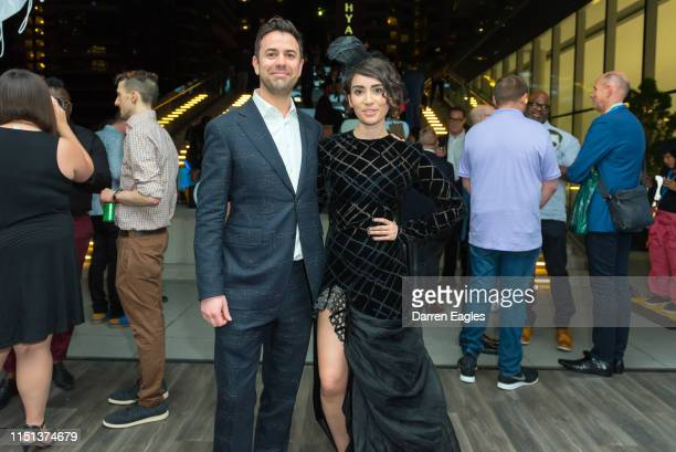 And ANDRIA WILSON, EXECUTIVE DIRECTOR during the afterparty for the 2019 Inside Out LGBT Film Festival Opening Night Gala at TIFF Bell Lightbox on...