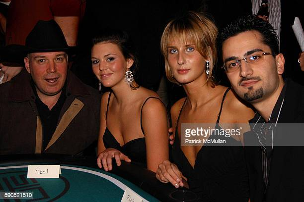 and Antonio Esfandiari attend Lotus and Borgata Hotel Casino Host First Annual NYC Poker Championship at Lotus on January 18 2005 in New York City