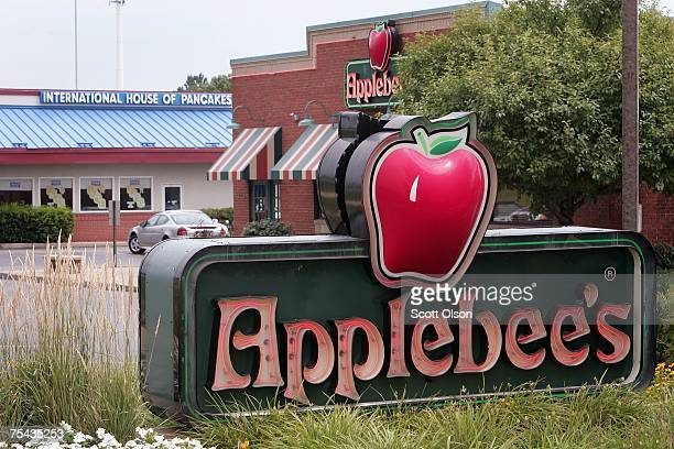 IHOP and Applebee's restaurants sit next door to each other July 16 2007 in Elgin Illinois IHOP Corp has agreed to purchase Applebee's International...