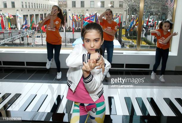 CARE and Artist Rita Angel Taylor present Activation For International Women's Day at FAO Schwarz on March 08 2019 in New York City
