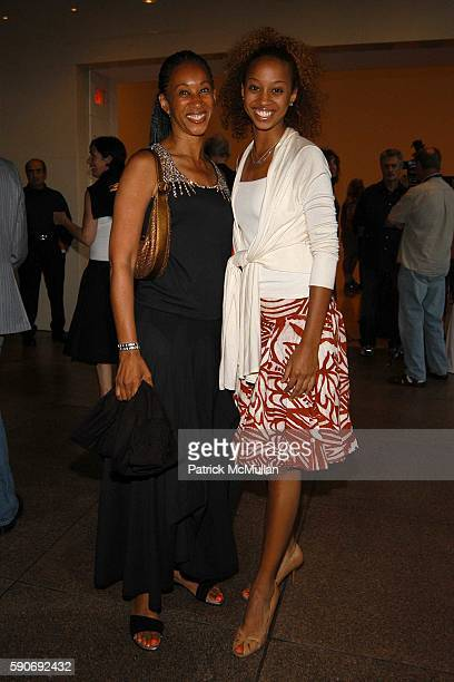 and attend Basquiat Exhibition Preview at MOCA on July 15 2005 in Los Angeles CA