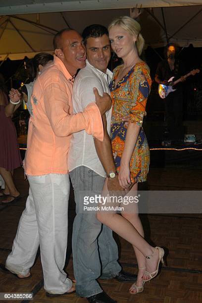 and attend Cocktail Party With Steven Schonfeld Celebrating Mindy Greenblatt's Birthday at Watermill on August 19 2006