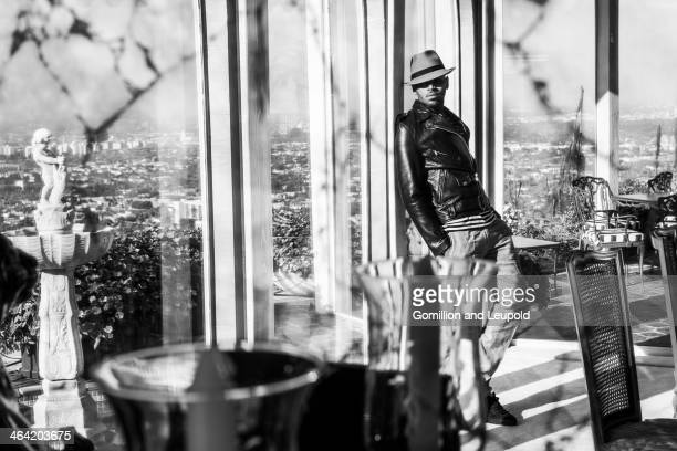 R and B singer Chris Brown is photographed for Blank Magazine on August 24 2013 in Los Angeles California PUBLISHED IMAGE