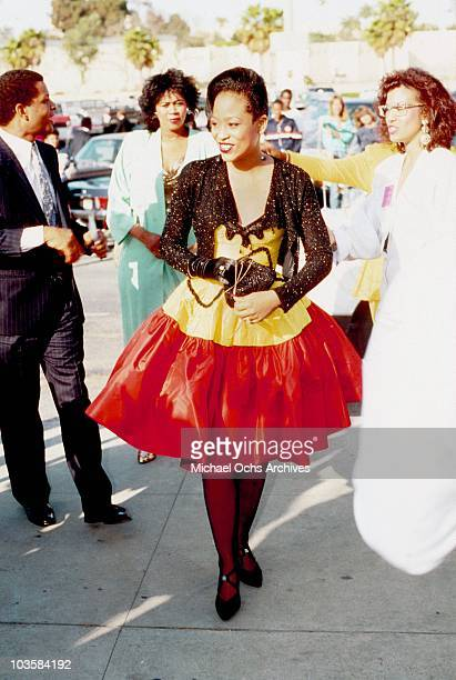 R and B singer Miki Howard attends an event circa 1985 in Los Angeles California