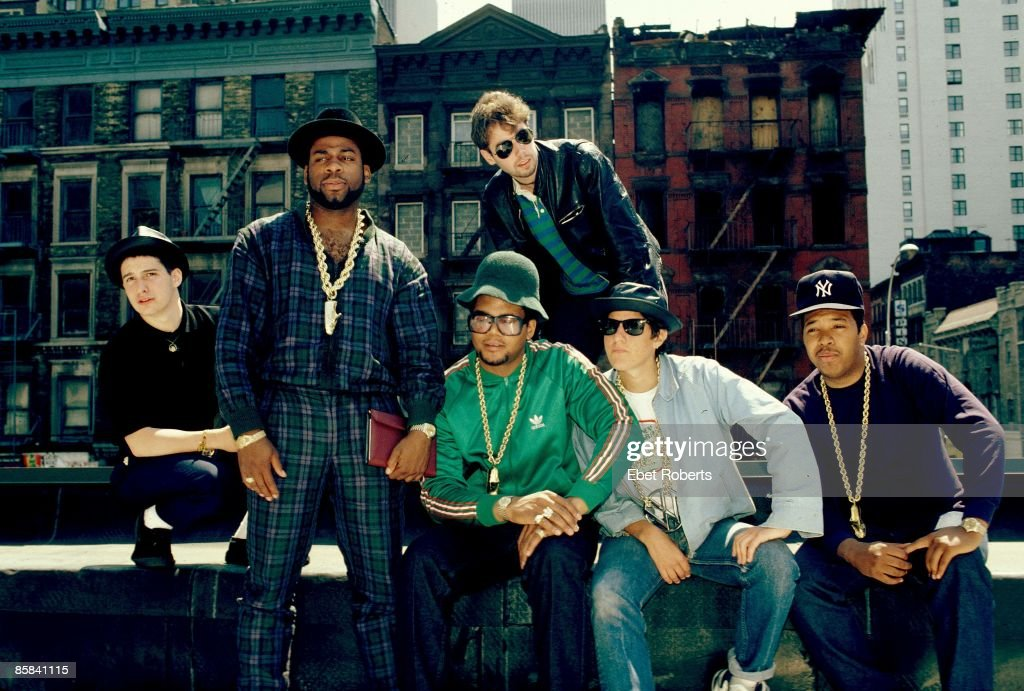 RUN DMC and BEASTIE BOYS... : News Photo