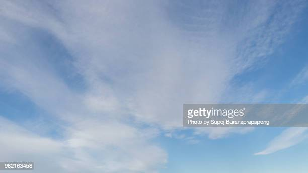 and beautiful cloud in winter.cirrus cloud - austurland stock pictures, royalty-free photos & images
