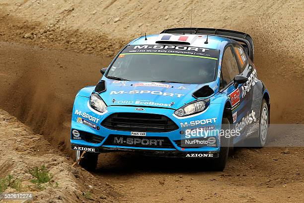 CAMILLI and BENJAMIN VEILLAS in FORD FIESTA RS WRC of team MSPORT WORLD RALLY TEAM in action during the shakedow of the WRC Vodafone Rally Portugal...
