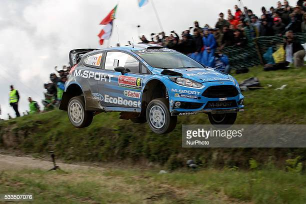 CAMILLI and BENJAMIN VEILLAS in FORD FIESTA RS WRC of team MSPORT WORLD RALLY TEAM in action during the SS17 Fafe of the WRC Vodafone Rally Portugal...