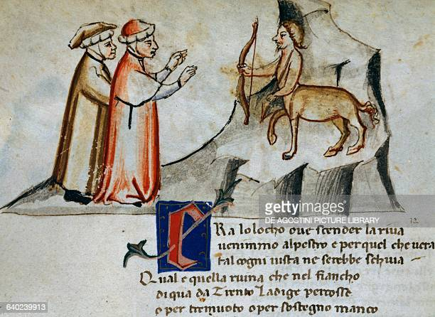 And between this and the embankment's foot Centaurs in file were running armed with arrows Canto XII Inferno Divine Comedy by Dante Alighieri...
