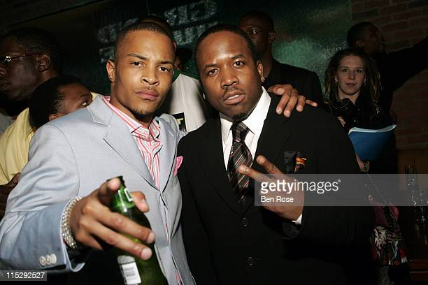 TI and Big Boi during ATL The Movie Official AfterParty March 28 2006 at Fox Sports Grill Atlantic Station in Atlanta Georgia United States